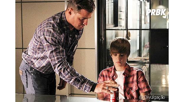 """Justin Bieber participou da série """"CSI"""""""