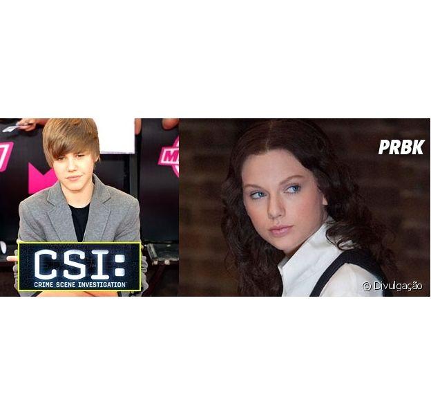 Taylor Swift, Justin Bieber e mais artistas que se arriscaram nas telinhas e telonas do mundo!