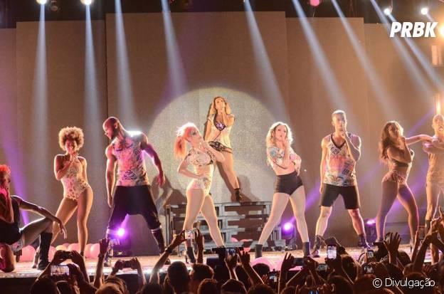 """Os dançarinos da Valesca deram um show a parte na """"Diva Tour"""""""