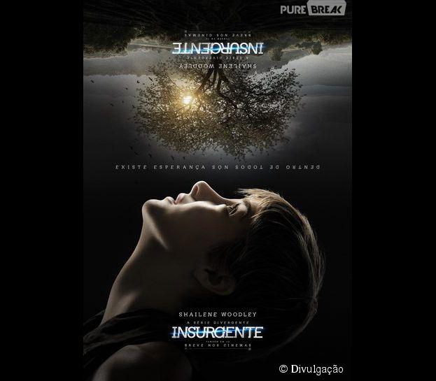 """Shailene Woodley aparece na pele de Tris em novo cartaz de """"Insurgente"""""""