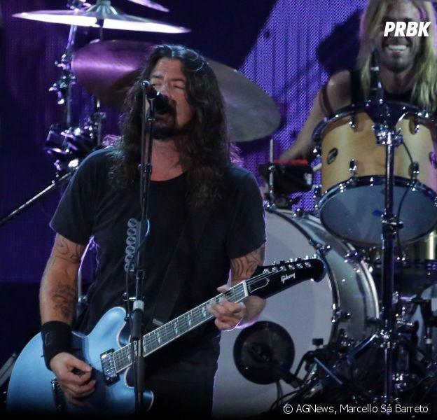 Foo Fighters faz show no Maracanã, Rio de Janeiro, no domingo (25)