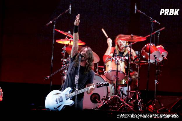 Dave Grohl e seus companheiros de Foo Fighters se apresentam no Rio de Janeiro, no domingo (25)