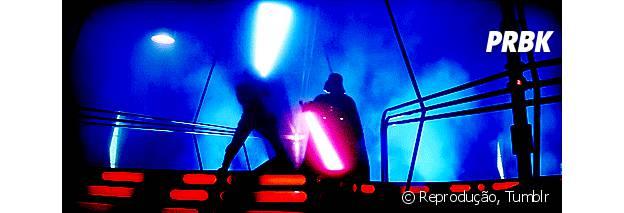 "Novos filmes de ""Star Wars"""