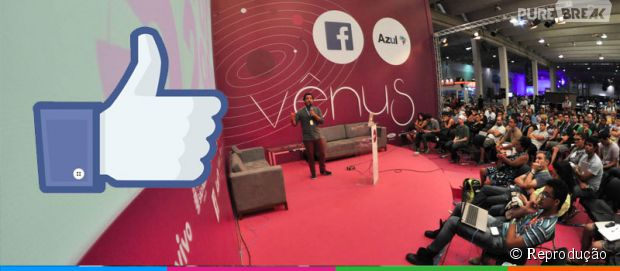 Facebook marca presença na abertura da Campus Party 2015, evento brasileiro de Cultura Pop e Nerd