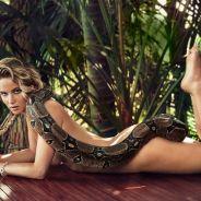 Jennifer Lawrence nua com uma cobra? Estrela faz ensaio polêmico para revista
