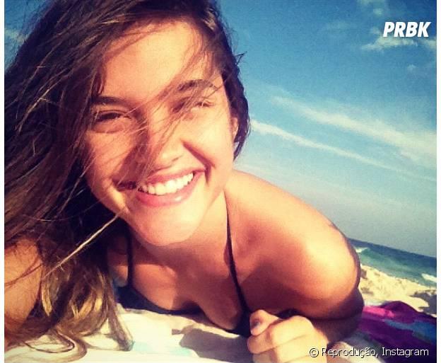 Juliana Paiva vai se dividir entre o Rio de Janeiro e as praias de Salvador no Carnaval de 2015!