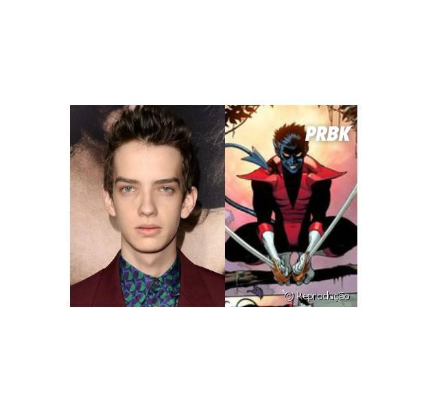 """Novo ator viverá Noturno em """"X-Men Apocalipse"""""""