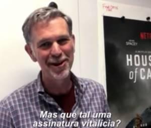 Dono do Netflix, Reed Hastings, responde Silvio Santos