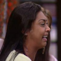 """No """"BBB15"""": Amanda chora muito ao falar de fora de Fernando: """"Não me quis porque sou feia e gorda!"""""""