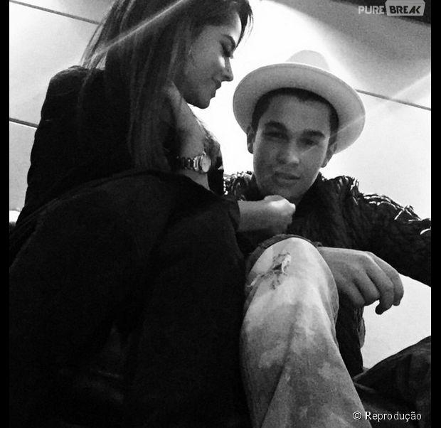 Austin Mahone publica foto ao lado da cantora Becky G