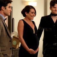 """Em """"Glee"""": No último episódio da 6ª temporada, Rachel (Lea Michele) tem uma grande notícia!"""