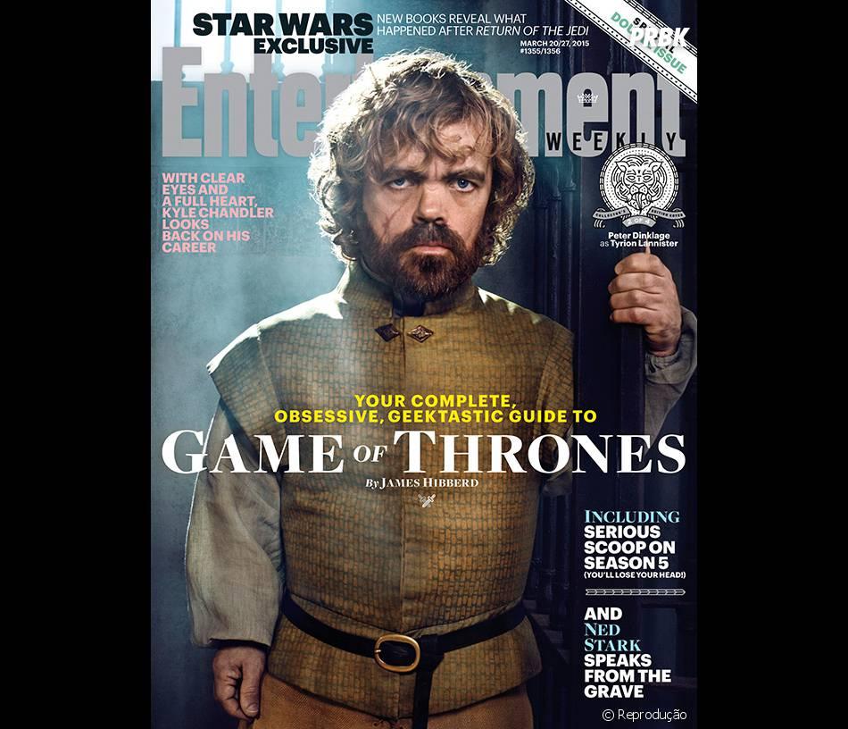 """""""Game Of Thrones"""" é capa da revista Entertainment Weekly"""