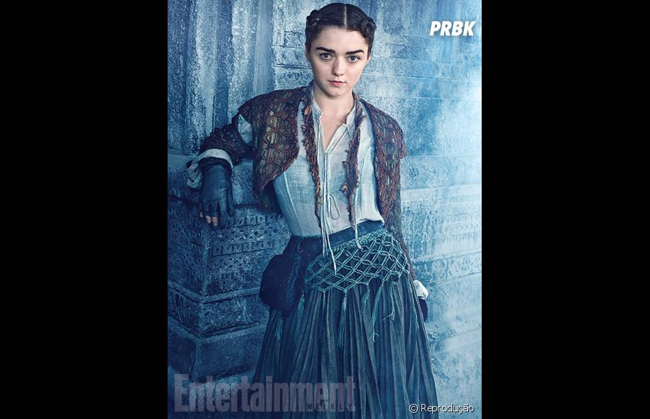 "Maisie Williams está deslumbrante na nova temporada de ""Game Of Thrones"""
