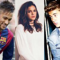 Neymar Jr., Bruna Marquezine e Justin Bieber são as celebridades mais stalkeadas no Instagram