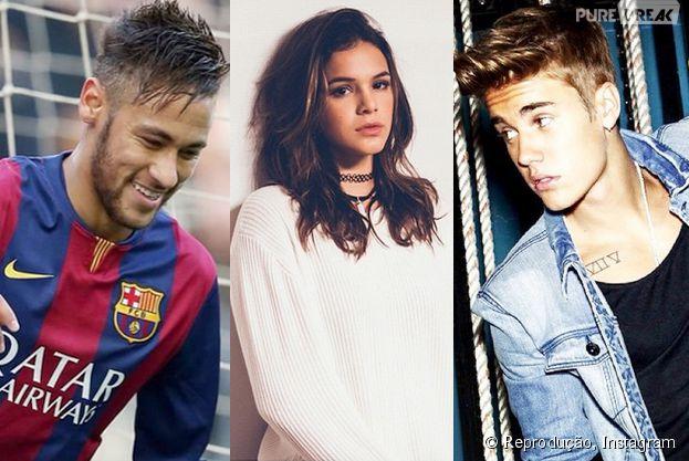 Segundo app InSpy, Neymar, Bruna Marquezine e Justin Bieber são os mais stalkeados do Instagram