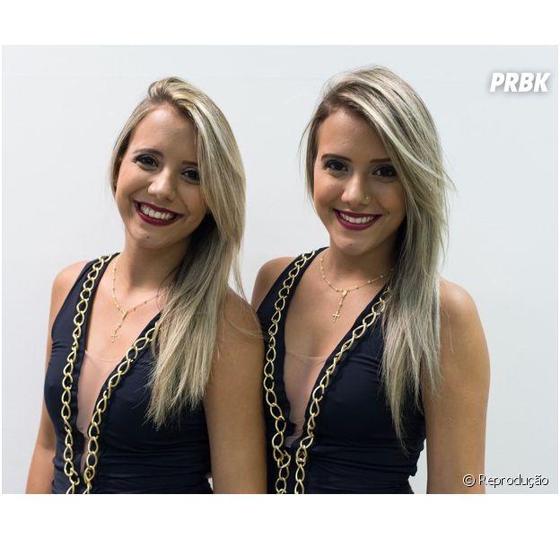 """Andressa troca de lugar com a irmã gêmea no """"BBB15"""""""