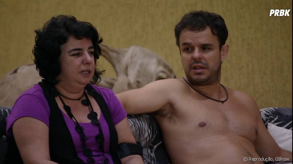 "No ""BBB15"": Mariza e Adrilles desconfiam de romance de Amanda e Fernando"