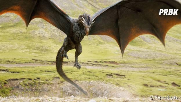 """Drogon pode ser a maior ameaça na nova temporada de """"Game of Thrones"""""""