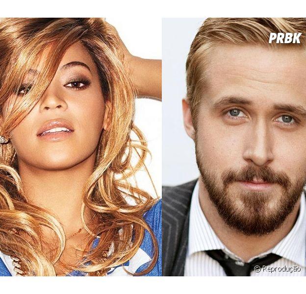 Beyoncé pode contracenar com Ryan Gosling e Brad Pitt no cinema