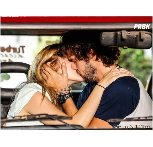 """Em """"Sete Vidas"""", Júlia (Isabelle Drummond) e Pedro (Jayme Matarazzo) dão seu primeiro beijo!"""