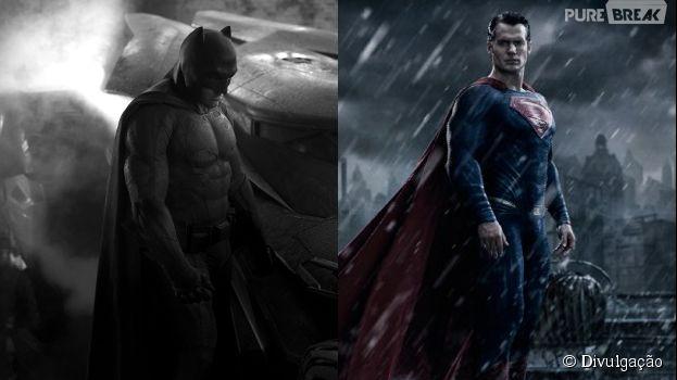 """Ben Affleck e Henry Cavill são os grandes protagonistas de """"Batman V Superman: A Origem da Justiça"""""""