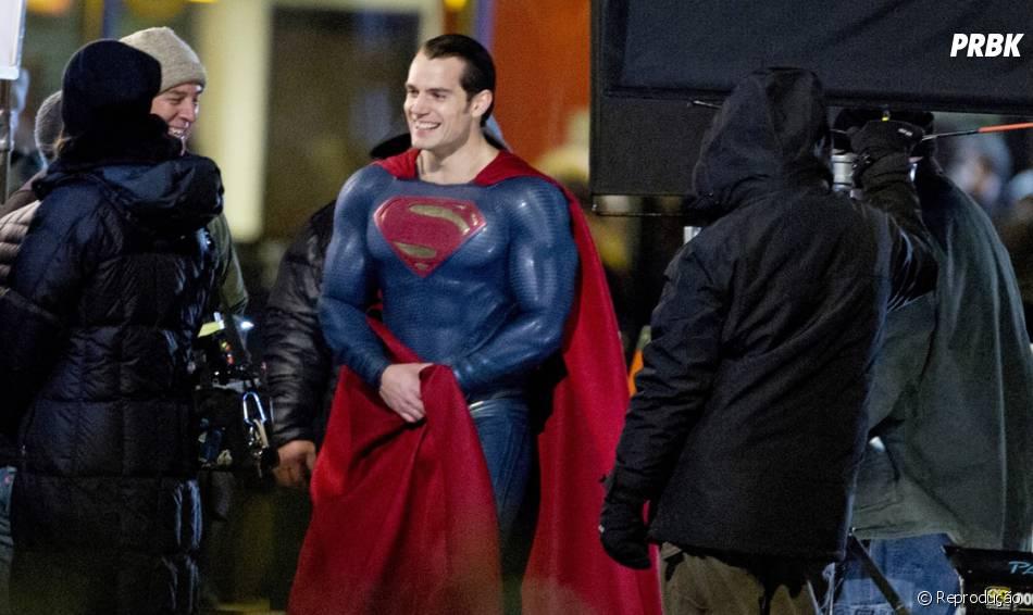 """O ator tá incrível na pele do Homem de Aço, em """"Batman V Superman""""!"""
