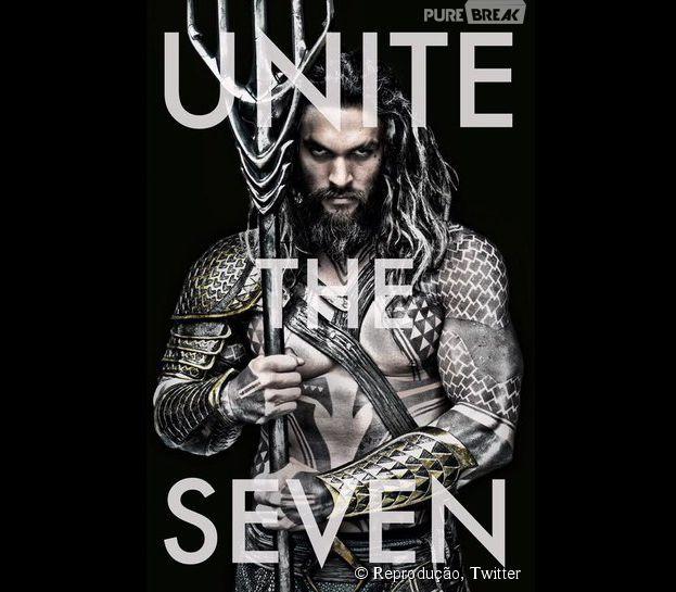 """Jason Momoa tem tudo pra arrasar como o Aquaman em """"Batman V Superman: Alvorecer da Justiça"""""""