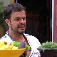 """No """"BBB 15"""": Fernando nega dançar com Adrilles e poeta brinca: """"Você não é romântico"""""""