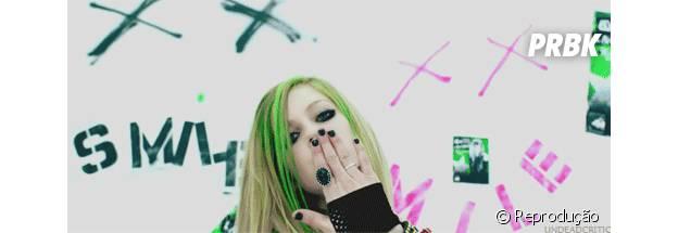 Avril Lavigne em clipe
