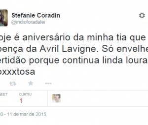 No Twitter, a galera fez piadas com a doença da Avril Lavigne