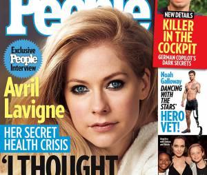 Avril Lavigne é capa de revista americana e abre o jogo sobre sua doença!