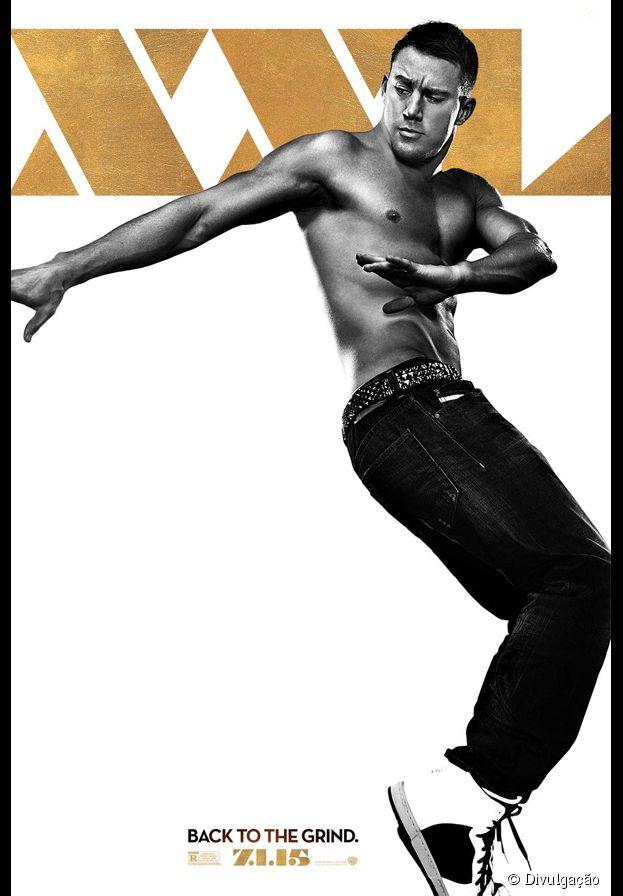 "Channing Tatum em novo cartaz de ""Magic Mike XXL"""