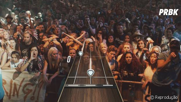 """A platéia de """"Guitar Hero Live"""" será vista de frente e composta por pessoas e não bonecos"""