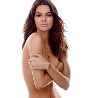 Kendall Jenner faz topless e usa biquíni de marca brasileira em ensaio da GQ americana!