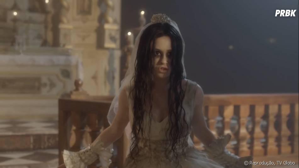 """O cabelo perto de Marina Ruy Barbosa em """"Amorteamo"""" é peruca! Atriz usou o artifício por ainda estar gravando cenas ruiva em """"Império"""""""
