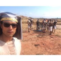 """Sérgio Marone, de """"Os Dez Mandamentos"""", se inspira em """"Game of Thrones"""" e Disney para viver Ramsés"""