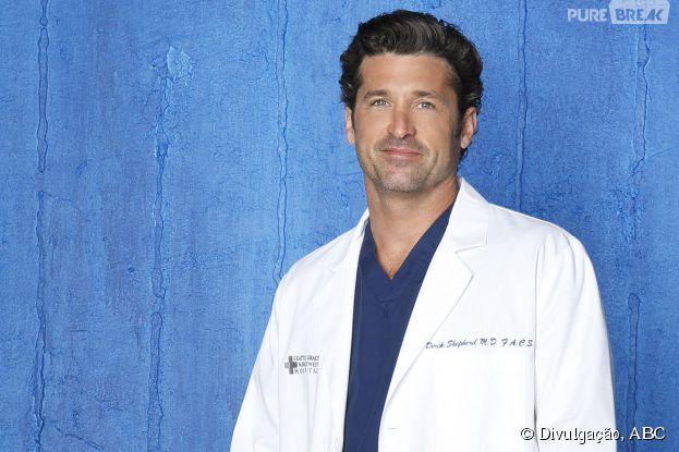 """OMG! Derek (Patrick Dempsey) disse adeus à """"Grey's Anatomy""""!"""