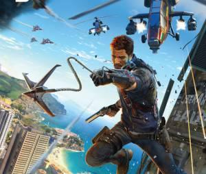 """Primeiro vídeo com gameplay de """"Just Cause 3"""": caos e explosão pra todo lado"""