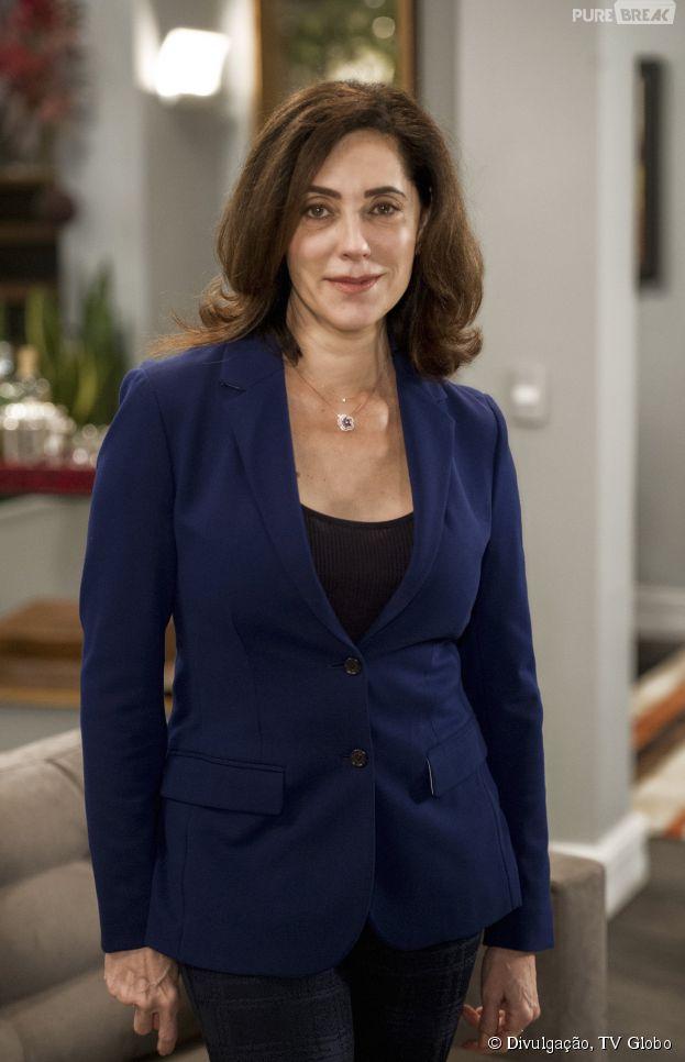 """Em """"Alto Astral"""", Maria Inês (Cristiane Torloni) é a mãe de Laura (Nathalia Dill)"""