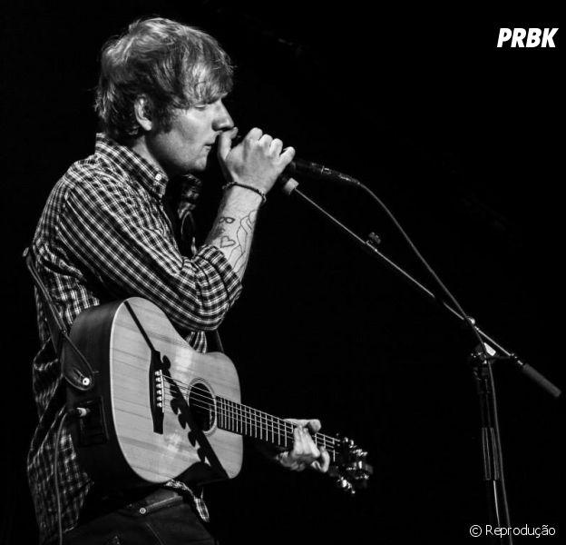 """Ed Sheeran em sua Turnê """"X"""""""