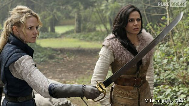 "No final de ""Once Upon A Time"", na 4ª temporada, Emma (Jennifer Morrison) é o novo senhor das trevas!"
