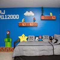 """Batman, Superman, """"Star Wars"""" e as decorações de quarto que qualquer geek vai querer!"""