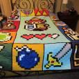 """Esse colchão de """"Legends of Zelda"""" fica bom em qualquer quarto"""