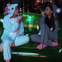"""Miley Cyrus e Ariana Grande em um clipe incrível do single """"Don't Dream It's Over"""""""