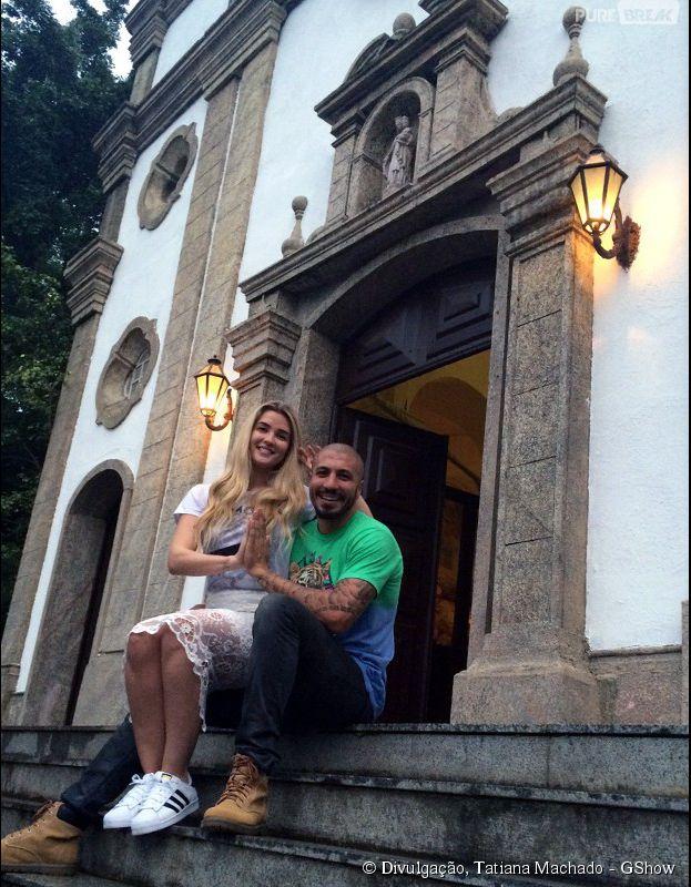 "Aline e Fernando, ex-""BBB15"", participam de quiz sobre vida amorosa"