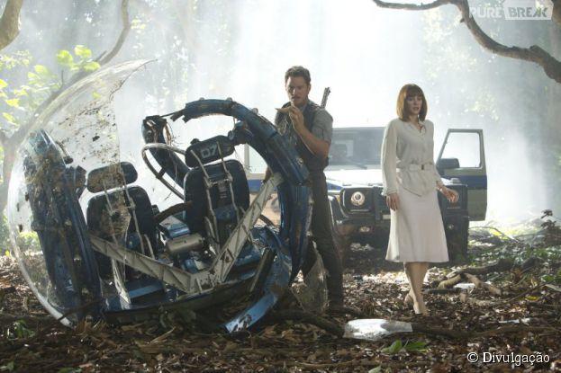 """""""Jurassic World"""", com Chris Pratt, acaba de ganhar novos clipes incríveis!"""