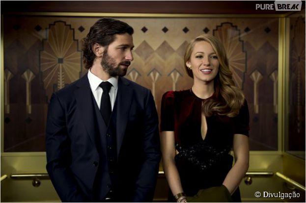 """Blake Lively e Michiel Huisman, de """"Game of Thrones"""", se apaixonam em """"A Incrível história de Adaline"""""""