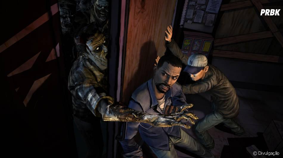 """""""The Walking Dead The Game"""" tem uma pegada dos quadrinhos e ganhou diversos episódios e até jogo pra mobile"""