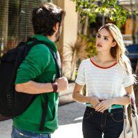 "Novela ""Sete Vidas"": Júlia (Isabelle Drummond) é surpreendida por Pedro em encontro armado"