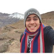 Biel curte neve no Chile e mostra registro das suas mini-férias para os fãs no Facebook!